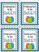 Welcome Back to School Treat Bags Toppers Candy Theme