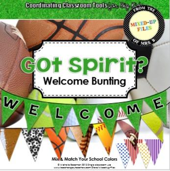 Got Spirit Welcome Banner