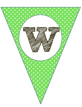 Welcome Banner: Green/Blue/Gray