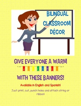 FREE Welcome back Banner (available in English and Spanish)