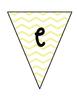 Welcome Banner- yellow chevron