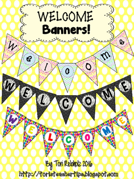 Welcome Banners Freebie