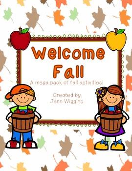 Welcome Fall! ~ A Cross Curricular Mega Pack