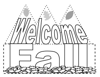 Welcome Fall Crown