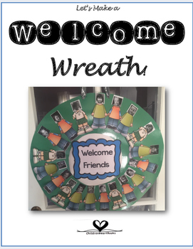 Welcome Classroom Wreath