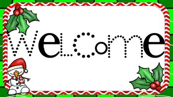 Welcome Holiday Sign