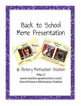 Welcome Power Point Meme Presentation