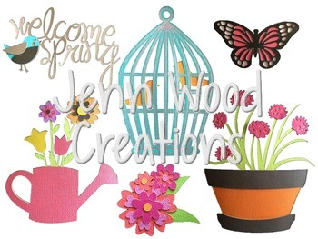 Welcome Spring Clip Art