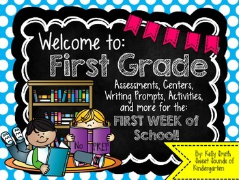 First Grade Beginning of the Year Printables {Welcome to F