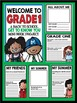 """Welcome to Grade One: Back to School """"All About Me"""" Mini B"""