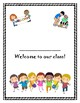 Welcome to Our Class! A new student book