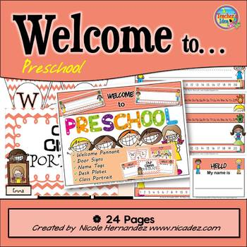 Banner - {Welcome to Preschool and More!}