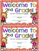Welcome to Second Grade Certificate - Back to School