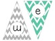 Welcome to ___ grade-- chevron pennant banner
