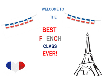 Welcome to the French class