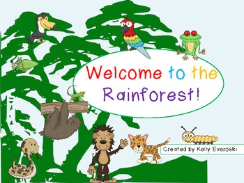 Welcome to the Rainforest! Time to Explore!
