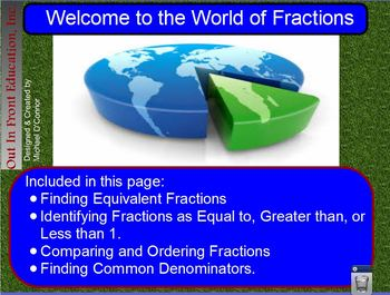 Welcome to the World of Fractions