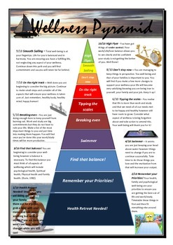 Well being Survey and Pyramid