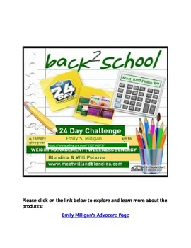 Wellness for Teachers -  Check out the 24 Day Challenge