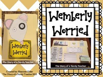 Wemberly Worried Lapbook