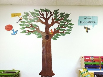"""""""We're Blooming! Tree"""" featuring 46 verbs from Bloom's/ We"""