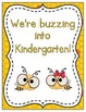 We're Buzzing into School! Grade Level Signs and Student N