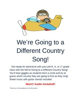 We're Going to a Different Country Song!