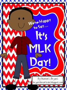 (MLK Unit) We're Happy to Say, It's MLK Day!