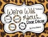 Door Decor: Animal Print