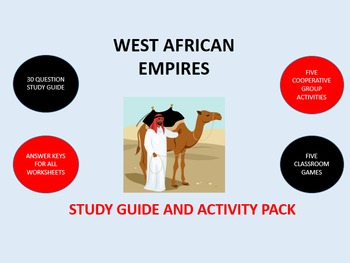 West African Empires:  Study Guide and Activity Pack