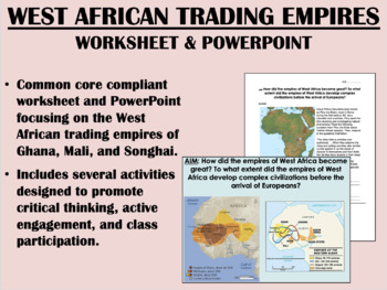 West African Trading Empires Bundle - Global/World History