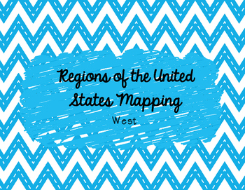 West Mapping Activity