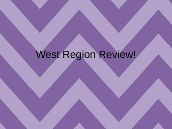 West Region State Review