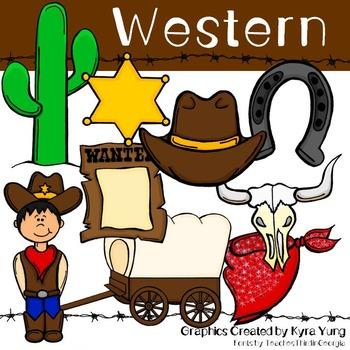 Western Clipart Freebie