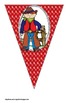 Western Cowboy Buntings- Customize Your Own Banner!