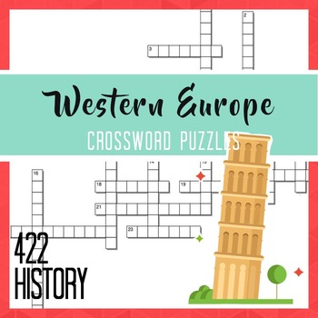 Western Europe Crossword Puzzles