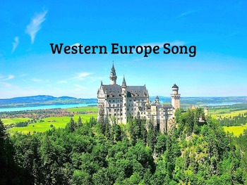 Western Europe Song and Test MP4 Video from Geography Song