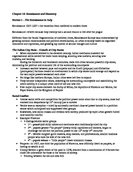 Western Heritage 8th Ed. Ch. 10 Lecture Notes