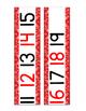 Western Number Line -  (Western Classroom Theme/Decor)
