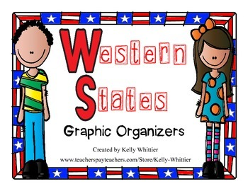 Western States Graphic Organizers (Perfect for KWL charts