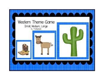 Western Theme Game