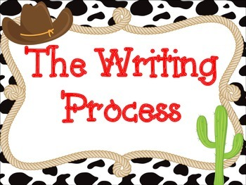 Western Themed Writing Process