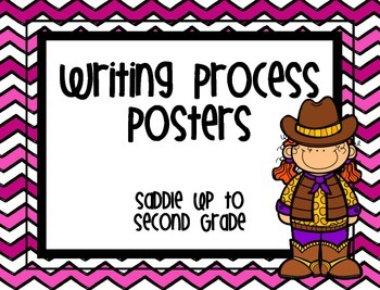 {Western} Writing Process Posters Freebie