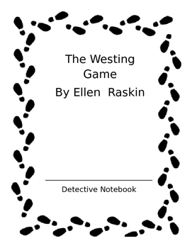 Westing Game Notes Templates