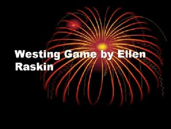 Westing Game Part 2 Final Test with ANSWER KEY