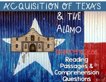 Westward Expansion: Annexation of Texas {Differentiated Cl