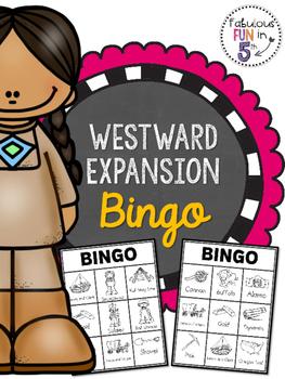Westward Expansion BINGO