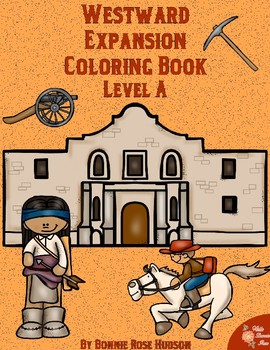 Westward Expansion Coloring Book