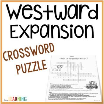 Westward Expansion Crossword Puzzle