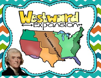 Westward Expansion: Growth of the United States Map Activity